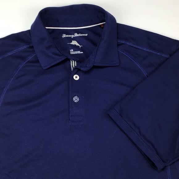 d9f24d24c Tommy Bahama Shirts | Navy Blue Golf Polo Mens Size L | Poshmark
